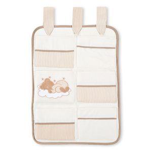 Babyzimmer Felix in weiss  21 tlg. mit 3 türigem Kl + Sleeping Bear in beige – Bild 9