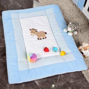 Babyzimmer Felix in weiss  21 tlg. mit 3 türigem Kl + Prestij in blau – Bild 17
