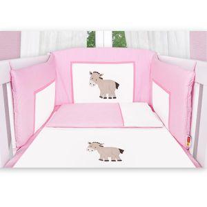 Babyzimmer Felix in weiss  21 tlg. mit 3 türigem Kl + Prestij in rosa – Bild 5