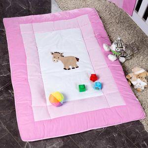 Babyzimmer Yves 21-tlg. mit 3 türigem Schrank + kl. Bett, Set von Prestij Rosa – Bild 15