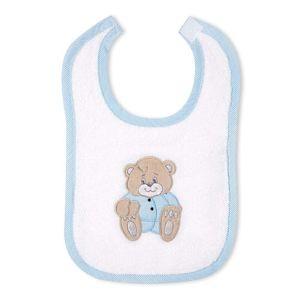 Babyzimmer Yves 21-tlg. mit 3 türigem Schrank + kl. Bett, Set Memi Bear Blau – Bild 12