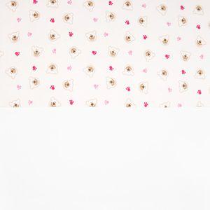 Babyzimmer Atlanta in Weiss 19 tlg. mit 3 türigem Kl. + Textilset von Cute Bear Rosa – Bild 22