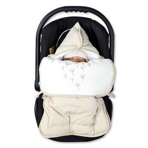 Babyzimmer Atlanta in Weiss 19 tlg. mit 3 türigem Kl. + Textilset von Blossom Beige – Bild 17