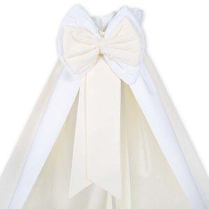Babyzimmer Atlanta in Weiss 19 tlg. mit 3 türigem Kl. + Textilset von Elegance Cream – Bild 9