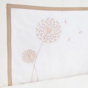 Babyzimmer Atlanta in Weiss 19 tlg. mit 3 türigem Kl. + Textilset von Elegance Cream – Bild 14