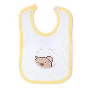Babyzimmer Atlanta in Weiss 19 tlg. mit 3 türigem Kl. + Textilset von Little Bear Gelb – Bild 21