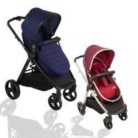 2in1 Kombi Kinderwagen, Buggy und Babywanne im Komplettset 001
