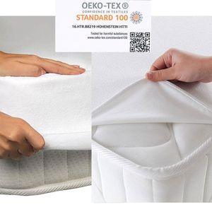 Matratzenschoner Matratzenauflage Wasserdicht Inkontinenz Matratzenschutz Molton – Bild 1