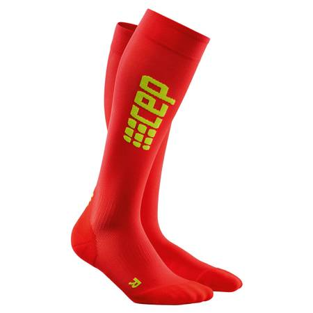 CEP pro+ Run Ultralight Socks Lady red/green | WP45MC