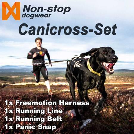 Non-Stop dogwear Canicross Set - Komplett-Set