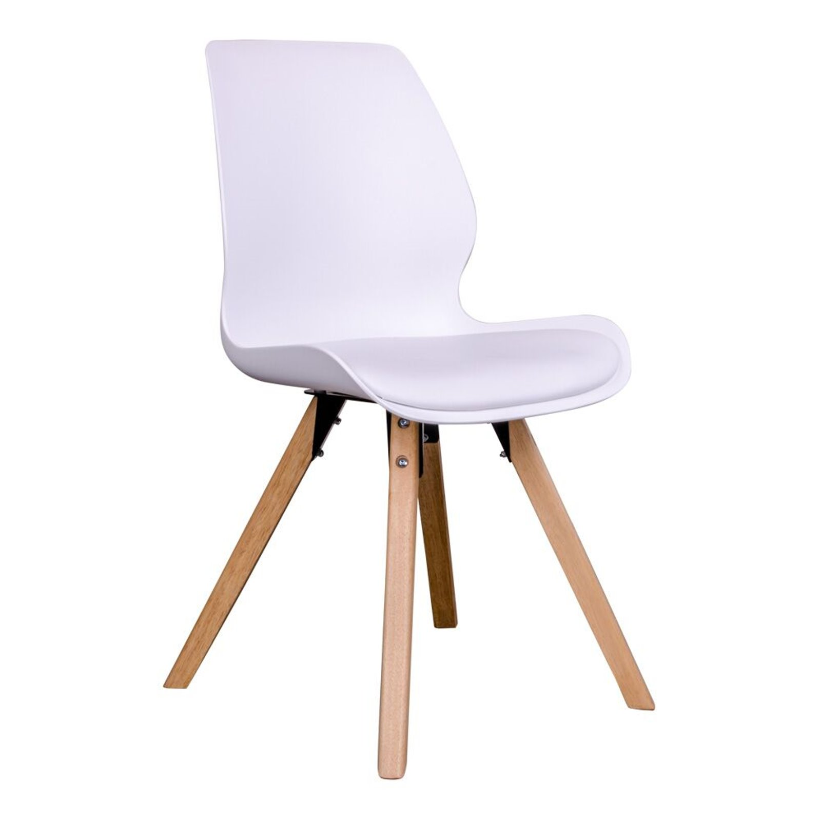 Fesselnde Schalenstuhl Gepolstert Ideen Von 2 X Designerstuhl Rie Weiß Esszimmerstühle Stuhl