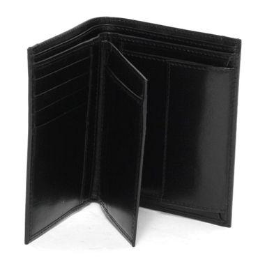 Damen Herren Geldbörse Portemonnaie Echt Leder schwarz Brieftasche Geldbeutel