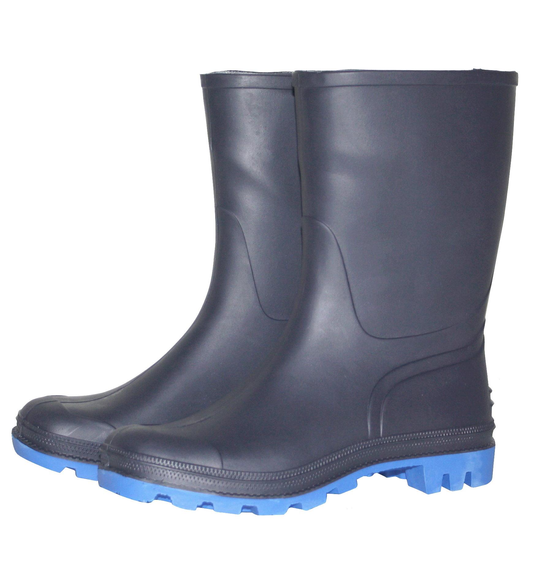 buy popular 0dcca 5acf3 Bockstiegel Herren Gummistiefel Gr. 41-45 Regenstiefel Stiefel Stiefelette  blau