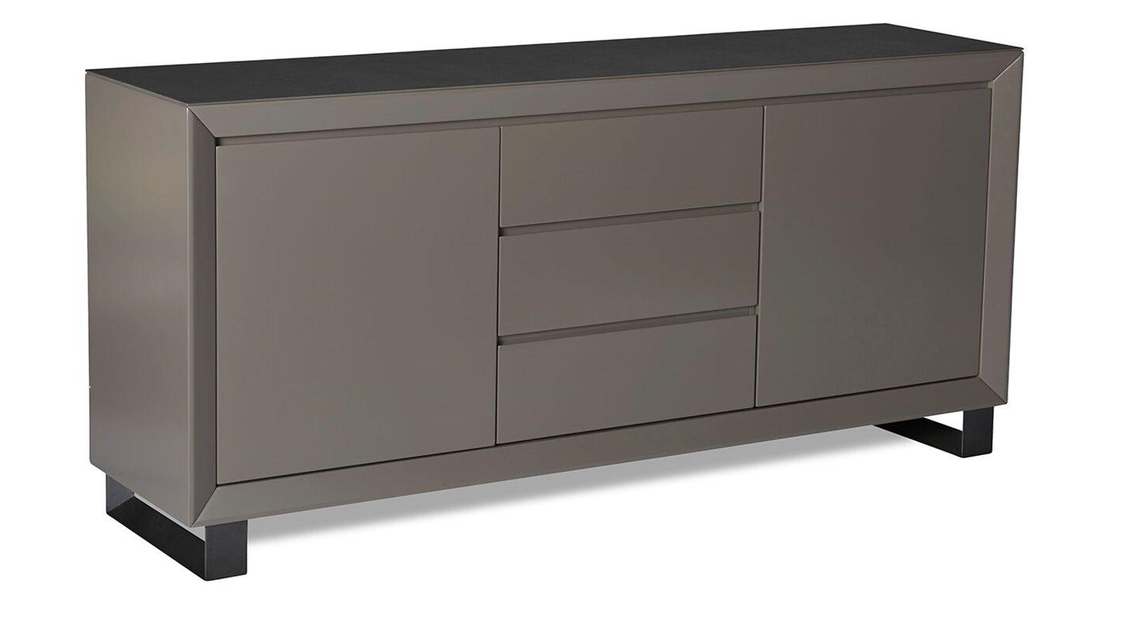 Sideboard Marlo Kommode Anrichte Grauschwarz Keramik Dynamic 24de