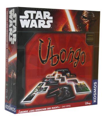 Star Wars Ubongo Das Erwachen der Macht Spiel Gesellschaftspiel Karten Würfel