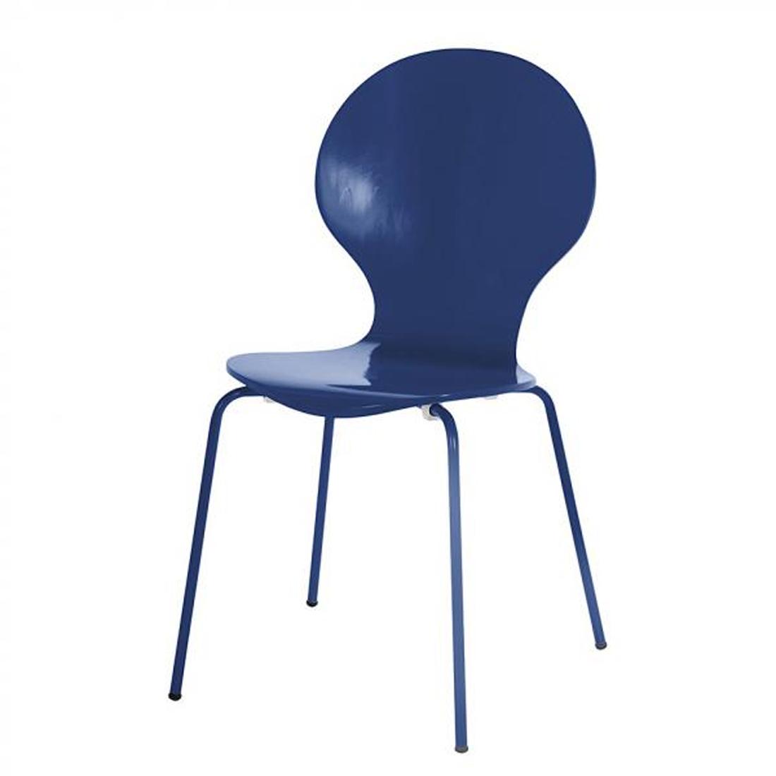 2x Esszimmer Stuhl Holzstuhl Stuhlset Holz Küchenstuhl stapelbar ...