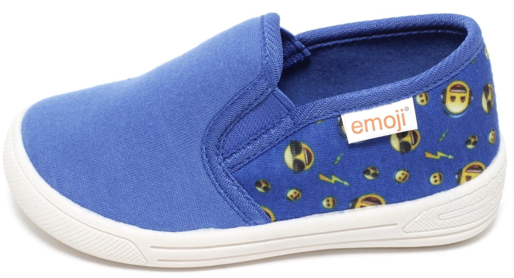 51cc782dbde287 Kinder Sneaker Slipper Unisex Freizeitschuhe Schuhe Halbschuhe emoji Smiley  blau