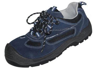 NiT-ToP Damen Sicherheitsschuhe  S1 Gr. 38 Halbschuhe Schuhe Arbeitsschuhe blau