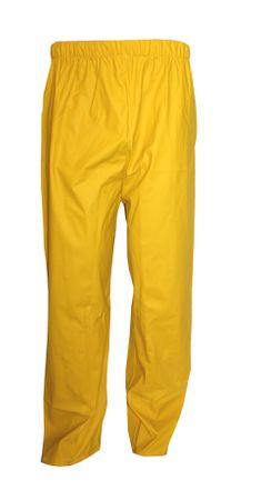 Asatex Herren PU-Stretch Regenbundhose Regenhose Arbeitshose Nässeschutz gelb