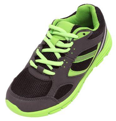 Kinder Sportschuhe neongrün Gr. 32-36 Sneaker Schuhe Freizeitschuhe ultraleicht