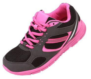 Mädchen Sportschuhe pink Gr. 32-36 Sneaker Schuhe Freizeitschuhe ultraleicht