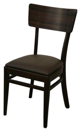 8x KONWAY Indoor Holz Stuhl Set BEAT Objektstuhl Gastronomie Esszimmer Stühle