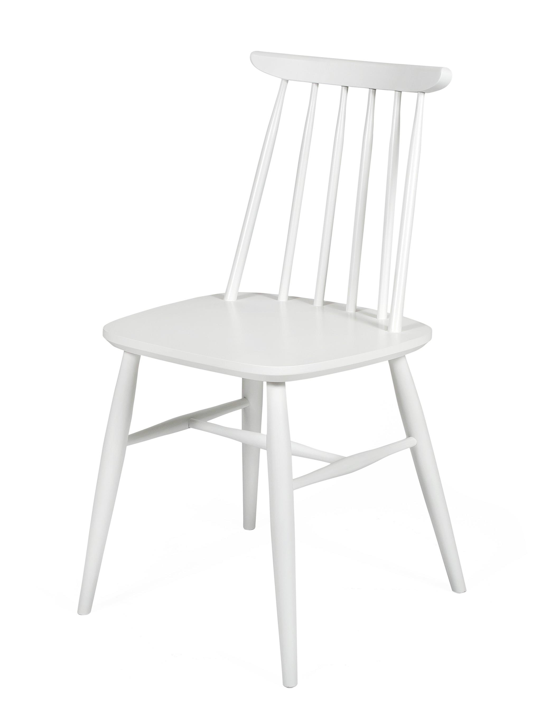 2x Esszimmerstuhl AV Birke massiv Holz Stuhl Stühle Küchenstuhl weiß    dynamic-24.de