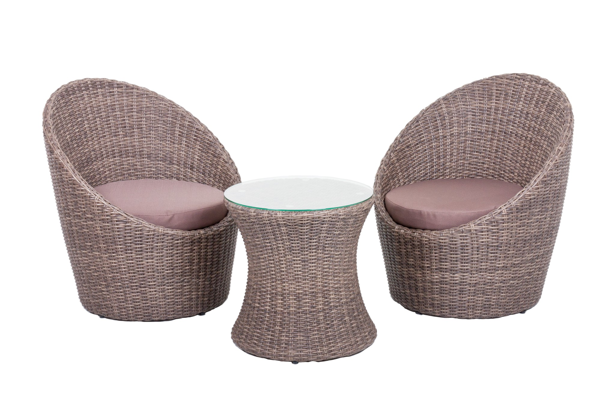 Garden Pleasure Club Set Sitzgruppe Garten Sessel Lounge Tisch