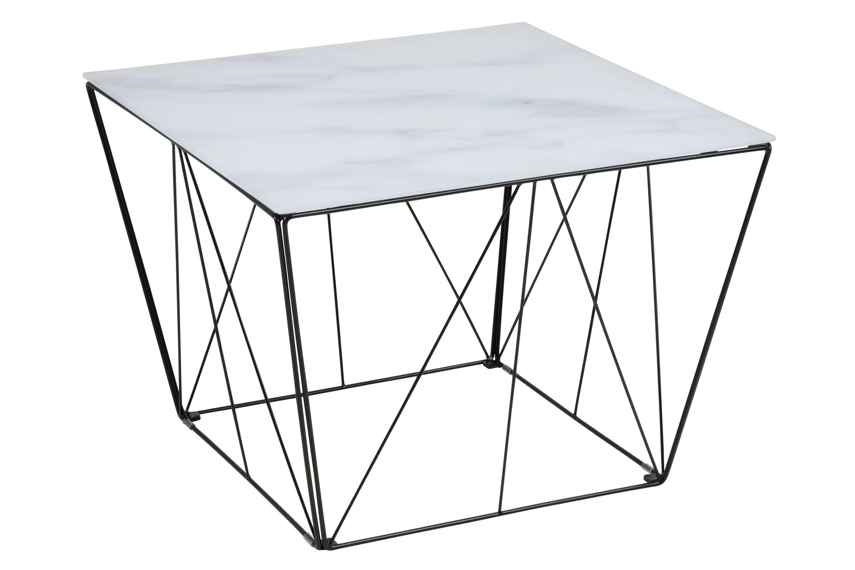 Couchtisch Squar Glastisch Beistelltisch Wohnzimmer Tisch Marmor