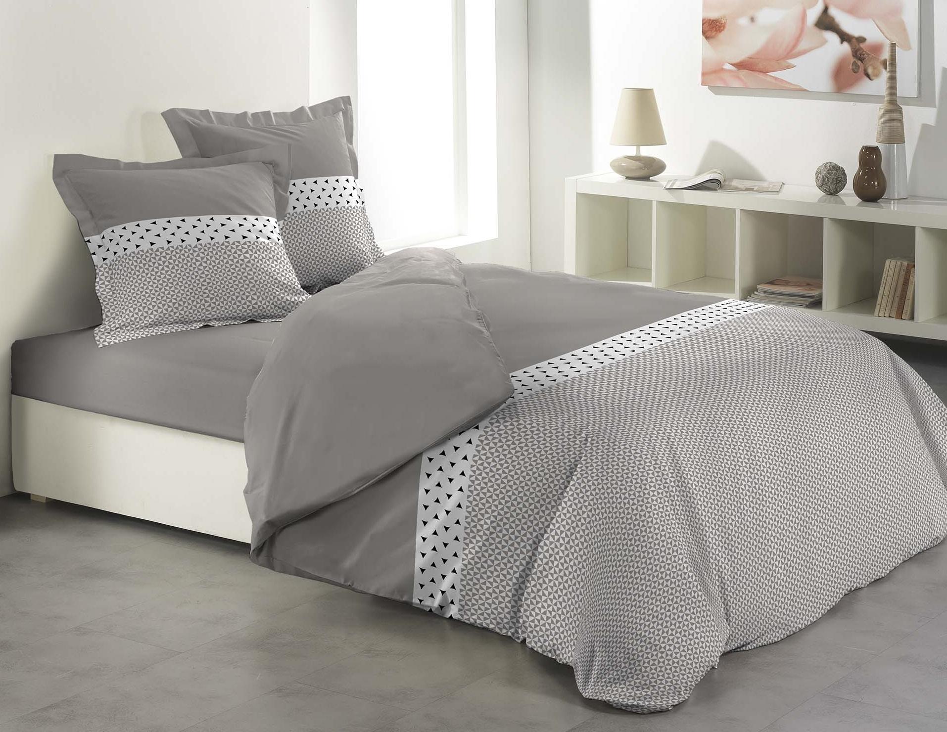 3tlg Wende Bettwäsche 260x240 Baumwolle Bettdecke übergröße
