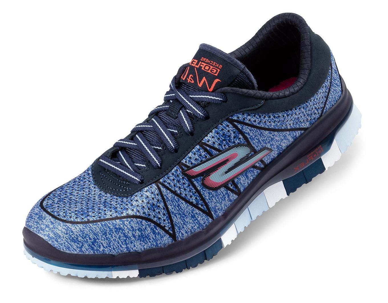 new york 62233 fcf17 Details zu Skechers Damen Go Flex Schuhe Sneaker Freizeitschuhe Laufschuhe  Turnschuhe blau