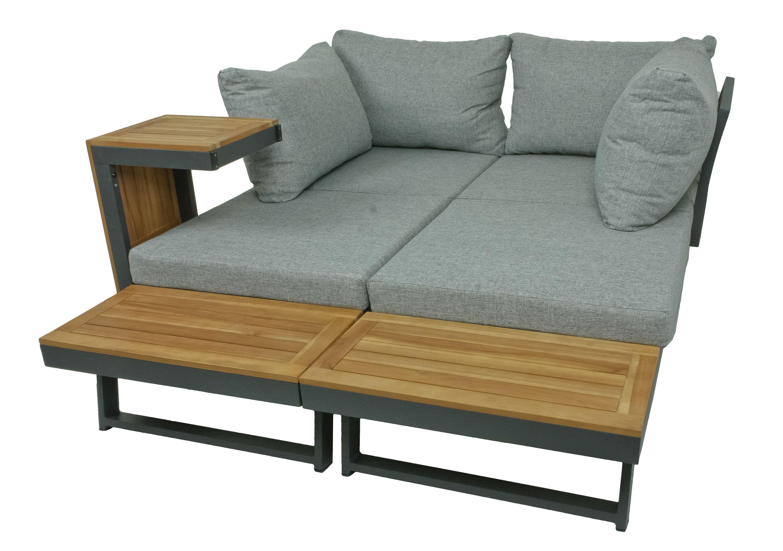 Sitzgarnitur Sitzgruppe Holz Garten Lounge Set Gartenmöbel ...