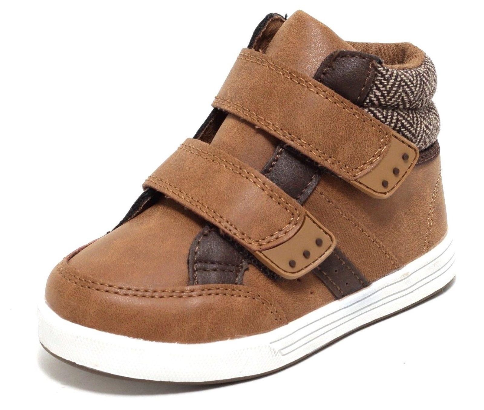 Highcut Sneaker Klett Schuhe 22 37 Kinderschuhe Jungen Mädchen TWEED STYLE braun | dynamic