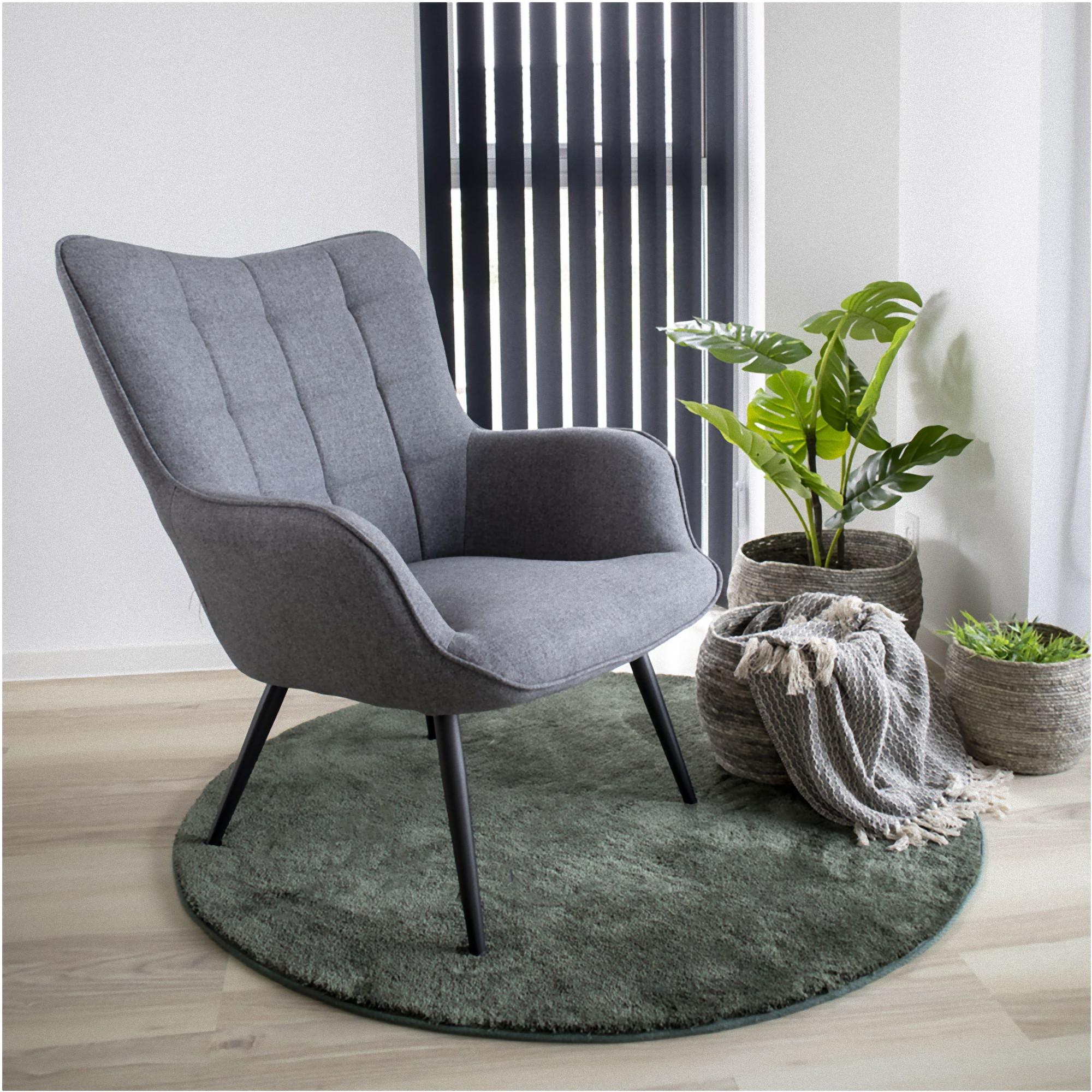 Flagstaf Teppich O120 Cm Grun Rund Design Laufer Wohnzimmer Esszimmer Modern Dynamic 24 De