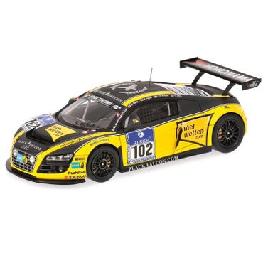 Minichamps Audi R8 LMS Team Black Falcon Stuck 1:43 limitiert Automodell