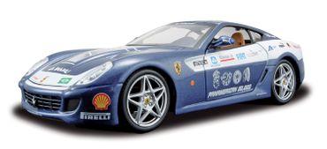 Maisto Ferrari 599 GTB Panamerican Tour blau