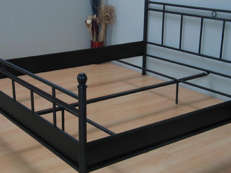 Metall Doppelbett 140x200 Ehebett Metallbett Bett Bettgestell