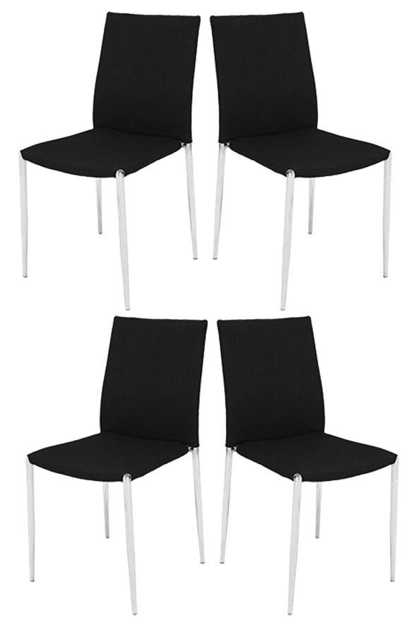 4x Flexfurn Stapelstuhl Spectra XL Stuhl Set Stühle Gastronomie ...