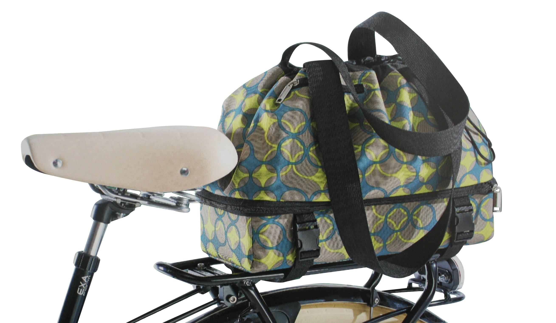 fahrrad gep cktr ger einkaufstasche tasche korb fahrradtasche gep cktasche gr n ebay. Black Bedroom Furniture Sets. Home Design Ideas