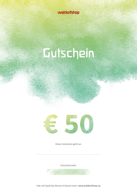 Waldorfshop Digital Gift Voucher € 50