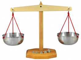 Scale with 5 Weights