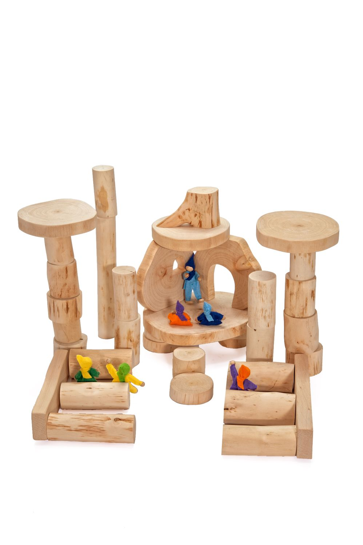Magic Wood Holzbausteine 36 ecoBlocks