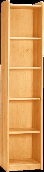 Livipur Carlo kast met planken 3 smal, H 200 cm
