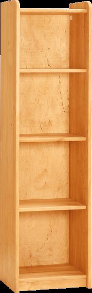 Livipur Carlo Wardrobe with Shelves 2 Narrow, H 160 cm