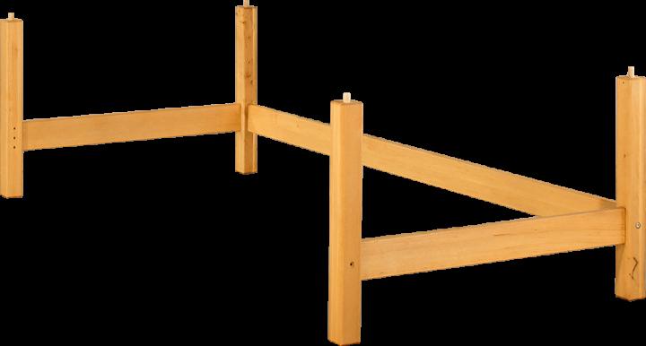 Livipur Lisa Substructure Element 90/200/60 cm half-height