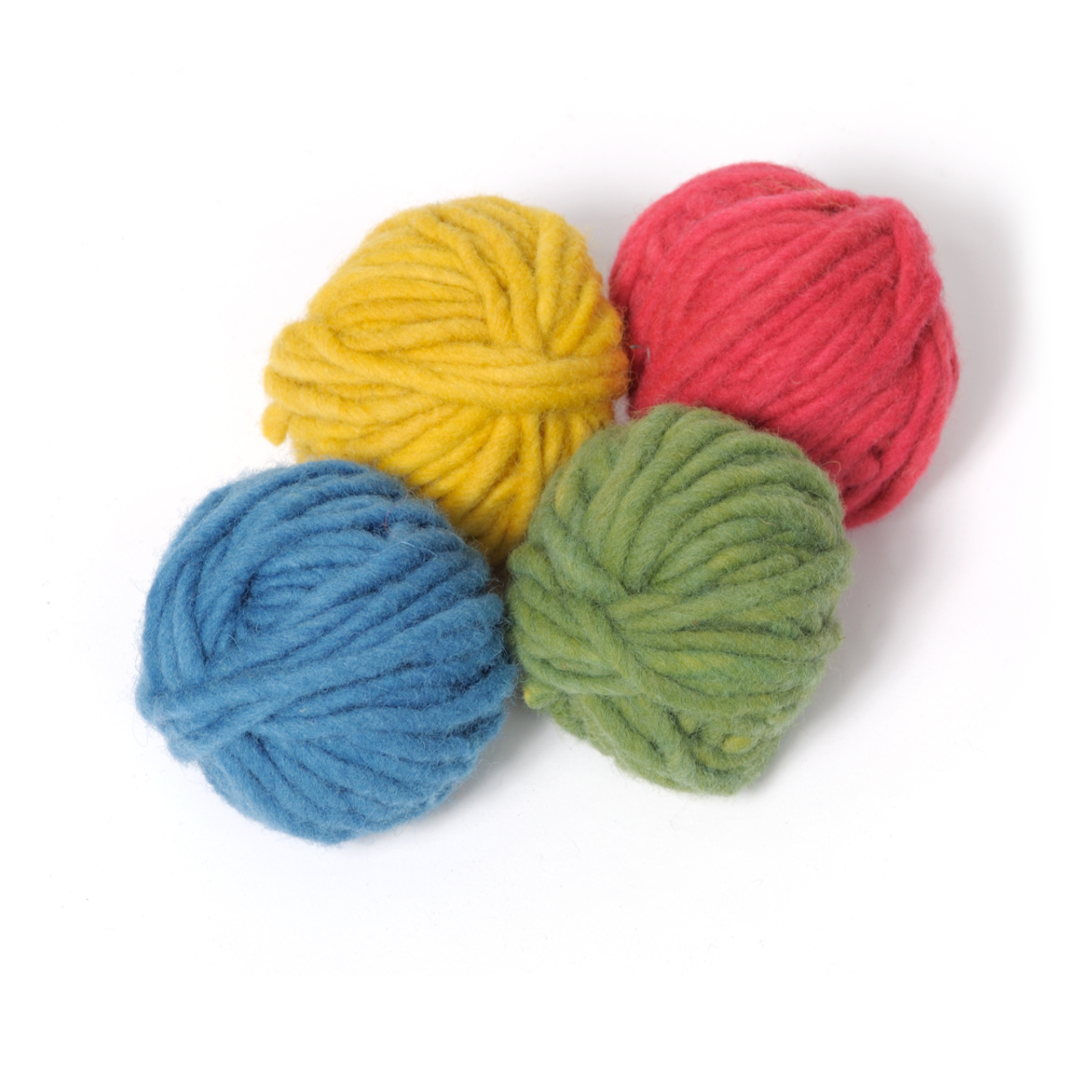 Filges Plant-dyed Organic Wool in Bright Colours 4 x 25 g.