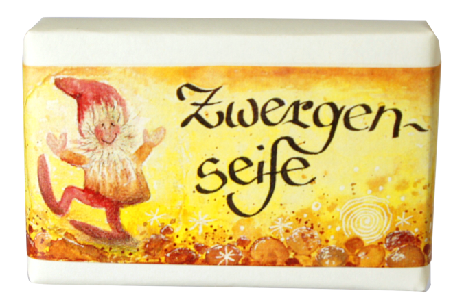 Block of Soap with a Fairy Tale Image
