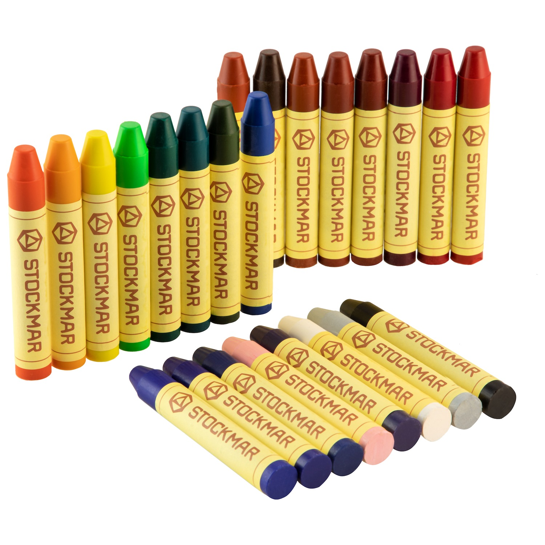 Stockmar Wax Stick Crayons Single Colours