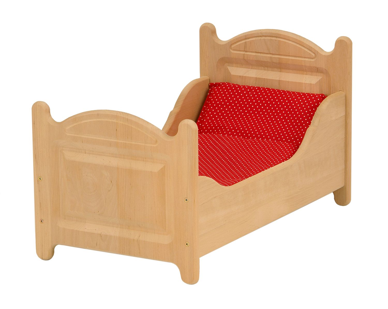 Doll's Bed with Bedding