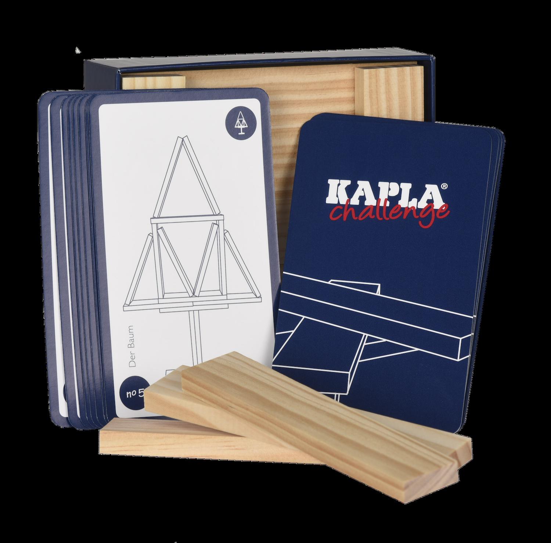 "Kapla Wooden Card Game ""Challenge"""